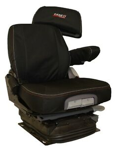 Case-IH-Tractor-Waterproof-Tailored-Black-Seat-Covers-Grammer-Driver-Seat