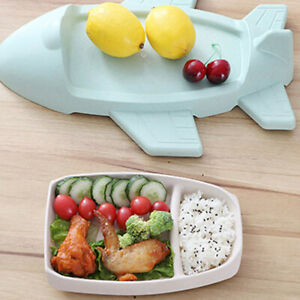 Airplane-Plates-Dinner-Food-Tea-Coffee-Dessert-Serving-Plate-Dish-Trendy-Tray-D