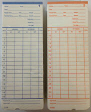 100 Time Cards For Pyramid 2400 At 2400 At 2500 Time Clocks 42426 Compatible