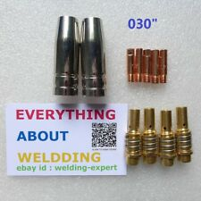 Nozzle Contact Tip 0030 Gas Diffuser Chicago Electric Harbor Freight Mig Welder