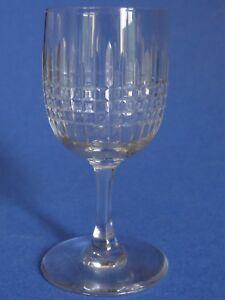 1 Ancien Verre A Porto Aperitif Cristal De Baccarat Modele Nancy Ht 9,5 Cm