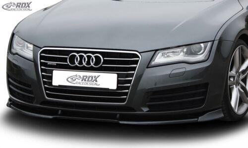 Rdx Spoiler Lèvre pour Audi a7 c7 Type 4 G à Partir De Bj 2010 épée Front Approche éclats