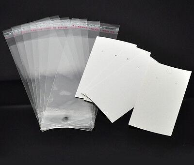 1000 Selbstklebend Folienbeutel Plastiktütchen 7x6cm