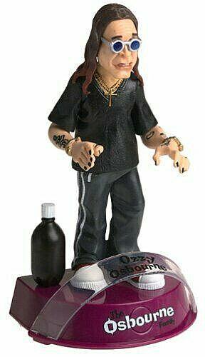 Osbourne Family Ozzy Osbourne  cifra PVC Suono  autentico