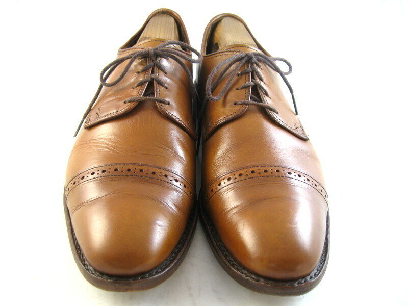 Allen Edmonds  BOULEVARD  Oxfords 10 D Walnut  (940)