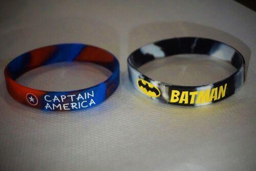 AXUAR brand superhero Captain america//Batman Bracelets Jewelry DC Avengers