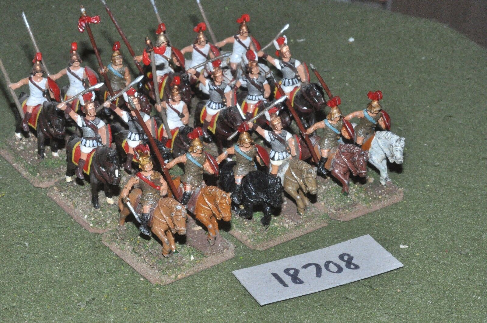 25mm classical   thracian - ancient cavalry 18 cavalry - cav (18708)