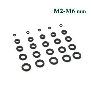 10pcs Heat Oil Resistant 5.3mm NBR Nitrile O-Ring Rubber Sealing Ring 90-200mm