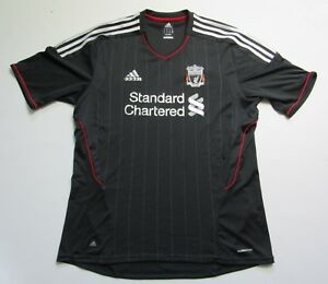 new styles 69769 f4d73 Details about The Reds FC LIVERPOOL Away jersey shirt ADIDAS 2011-2012  trikot adult SIZE XL