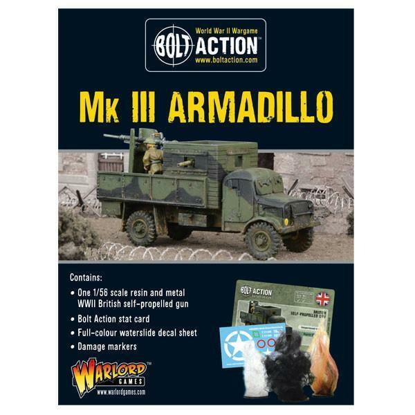 Bolt Action WWII British MkIII Armadillo box Warlord Games