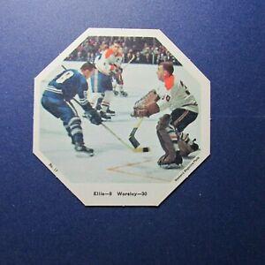 GUMP-WORSLEY-1967-68-York-Octagons-17-RON-ELLIS-Canadiens-Maple-Leafs-Beliveau