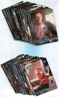 Details about  /Star Trek Deep Space Nine Trading Cards Complete Set 100 cards no chasers