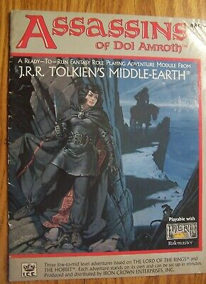 ICE Middle Earth Role RPG Role Playing MERP modules pick one free shipping