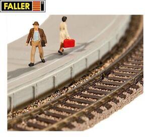 Faller-H0-120205-Flexible-Bahnsteigkanten-NEU-OVP