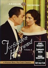 FORBIDDEN HOLLYWOOD COLLECTION 4 - (1932) Region Free DVD - Sealed