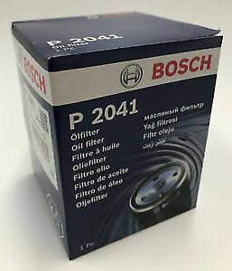 B16 B18 K20 K24 Honda VTEC Bosch P2041 Oil Filter FREE SUMP PLUG WASHER