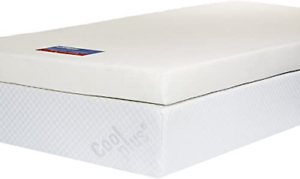 4 Inch UK Small Double Southern Foam Memory Foam Mattress Topper with Cover