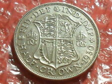 1930 George V halfcrown - scarce.