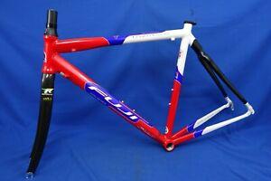 NEW 2003 Fuji Team Issue Carbon/Aluminum 54cm Road Bike Frameset, Frame & Fork