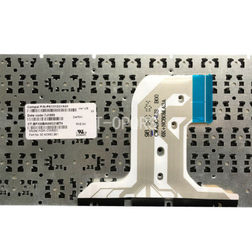 Original New for HP PK131EM1A00 9Z.NC8SC.A01 NSK-CWASC AP1EM000300 US keyboard