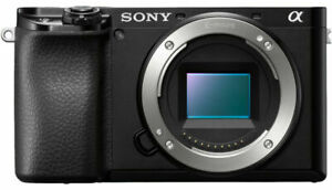 Brand-New-Sony-Alpha-a6100-24-2MP-Mirrorless-Camera-Black-Body-amp-Lens-Cover
