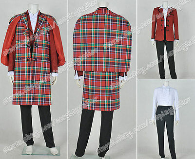 Who Is Doctor The 3rd Dr Jon Pertwee Cosplay Costume Uniform Full Set Well Made