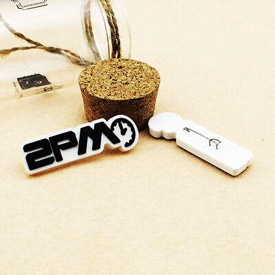 2pics 2PM BADGE PINS GOODS KPOP NEW