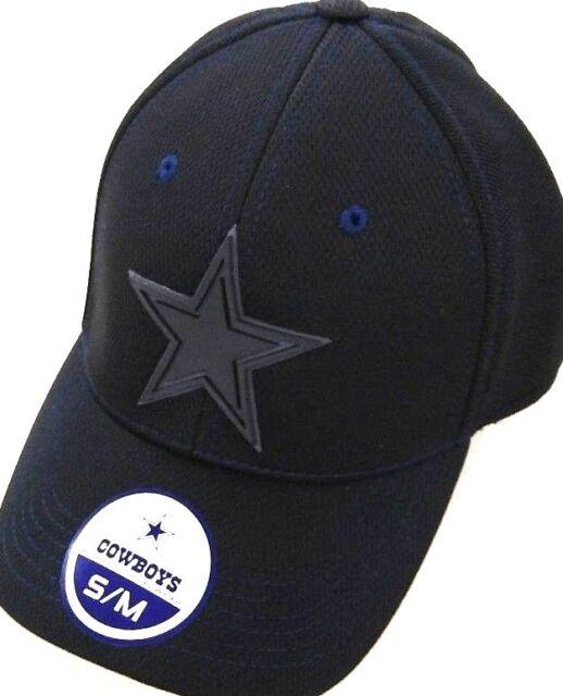 Buy Dallas Cowboys NFL DCM Displacement Flex Fit Hat Cap S m Black ... 22d34a5db91b
