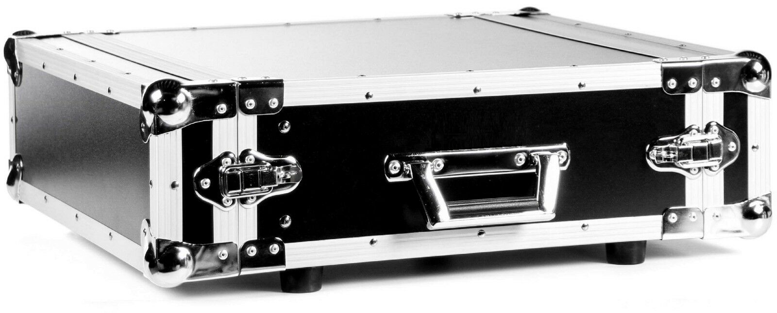 TEGO PRO 3 HE Rack Effektrack, 43 cm tief 19  CO DD schwarz, Amprack DJ-Rack