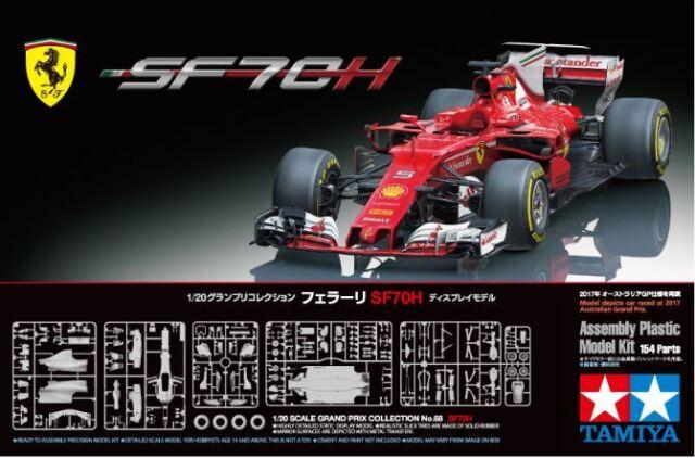 Tamiya 1/20 Ferrari SF70H F1 # 20068