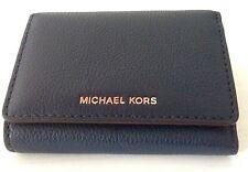 4edcf13b7edb item 1 Michael Kors Liane Small Billfold Leather Wallet 32S6GL3F1L Navy NWT  -Michael Kors Liane Small Billfold Leather Wallet 32S6GL3F1L Navy NWT