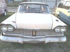 1959 Plymouth Savoy Wagon Sport