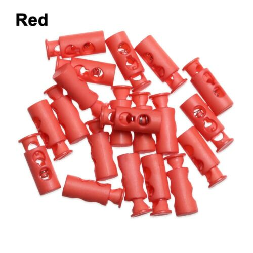 Apparel Sewing DIY Metal Clamp Stopper Cord Lock Toggle Plastic Stoppers