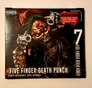 FIVE-FINGER-DEATH-PUNCH-CD-AND-JUSTICE-FOR-NONE-DELUXE-EDITION-2018-NEW