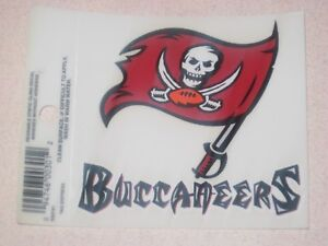 09c9f14cf Image is loading Tampa-Bay-Buccaneers-NFL-Football-Reusable-Static-Cling-