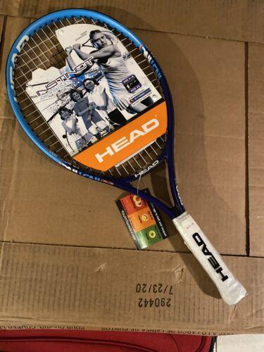 NEW HEAD Instinct Girls Junior Recquet Tennis Racket Ages 6-8 Size 23  #b7