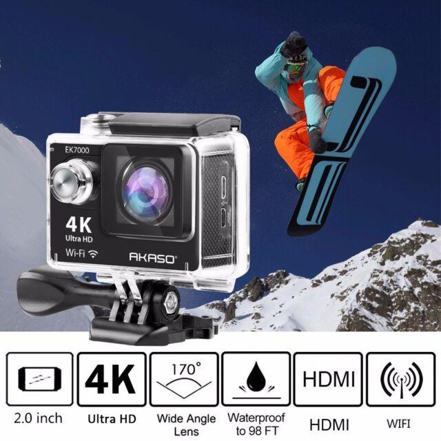 Ultra 4K HD 1080P Waterproof WiFi DV Action Sports Camera Video Camcorder DVR