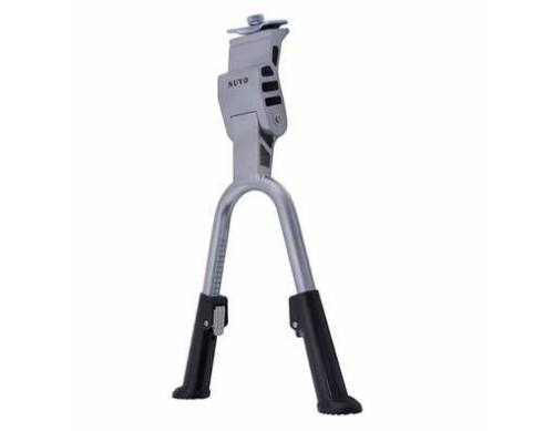 """Bicycle Alloy Double Kickstand Adjustable for 24/"""" To 28/"""" Bikes Black or Silver"""