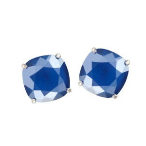 f0dff9638fa6f Details about ORIGAMI OWL SILVER CLARA STUD EARRINGS WITH ROYAL BLUE  SWAROVSKI CRYSTALS