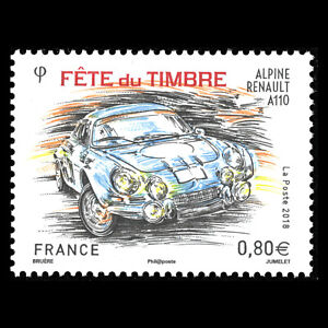 France-2018-Stamp-Day-034-Race-Cars-034-MNH