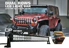 """H2 H3 300W LED Work Lights Bar For Combo Offroad 4WD SUV Spot Flood Combo 52"""""""