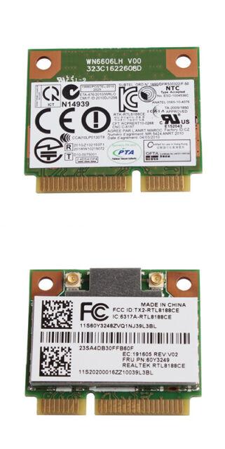 Realtek Rtl8188ce Pci-e Wireless WiFi WLAN Card for Lenovo Laptop  Replacement