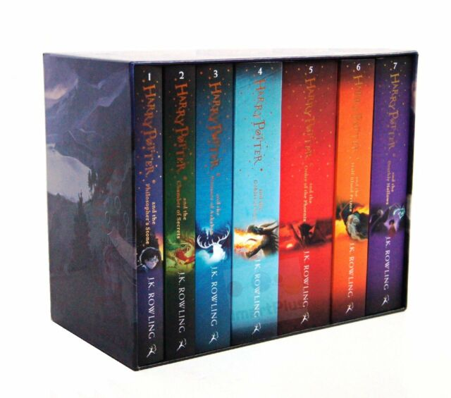 Harry Potter 7 Books Complete Collection Paperback Boxed Set | Children Edition