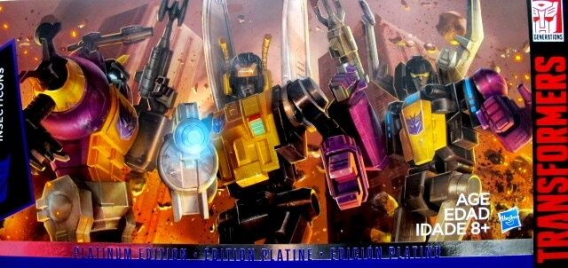 TRANSFORMERS PLATINUM EDITION G1 INSECTICONS 3 pcs SET