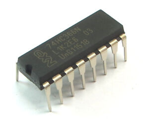 74HC366N-652-DIP16-Hex-buffer-line-driver-3-state-inverting-NXP