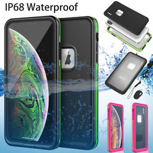 Waterproof Shockproof Dirt Proof Underwater Case Cover For iPhone XS Max XR X XS