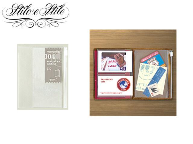 Midori Zipper Pocket | Refill Midori 004 | Traveler's Notebook Passport Size PP