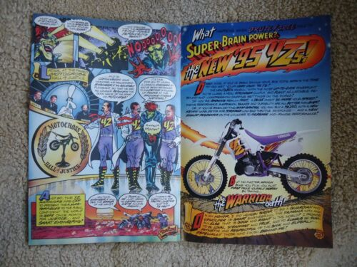 YAMAHA YZ WARRIORS COMIC BOOK UNREAD 1995 NEW!!