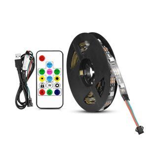 WS2812B-Addressable-LED-Strip-5V-USB-LED-Strip-Light-5050-Diode-LED-Lamp-TV