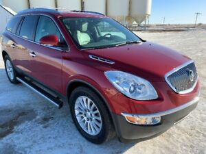 2012 Buick Enclave CXL AWD. Leather. 3rd row seating. wood
